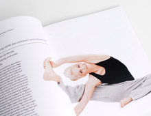 Hands on Yoga – Buch <br> Editorial Design