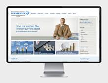 Nürnberger Versicherungen<br> Webdesign