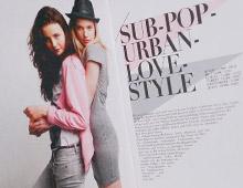 Sub Urban Love Style – Fashion<br /> Editorial Design